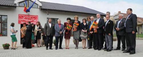 Inaugurarea scolii gimnaziale nr. 1, Mihalaseni